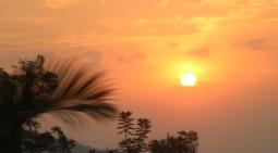 Sunset in Kigali