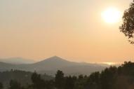 View from Mt Karongi