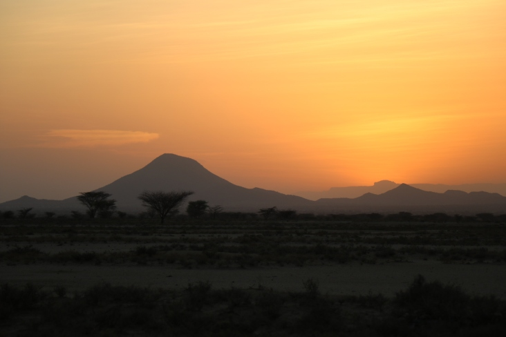 Turkana sunset